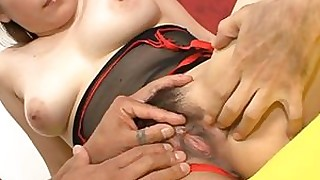 threesome pussy oil japanese hardcore fingering chick busty bus