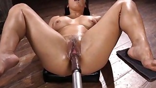 shaved pleasure orgasm fuck dolly babe solo tease