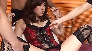 japanese lingerie squirting stocking