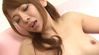 hot hairy double-penetration blowjob wet threesome pussy licking japanese