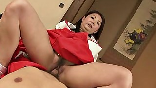 cougar big-cock brunette amateur ride threesome milf mature japanese