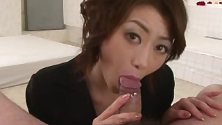 bathroom blowjob brunette big-cock hairy japanese nipples pov sucking