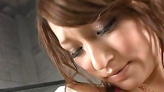 blowjob chick close-up grope japanese pussy shaved wet
