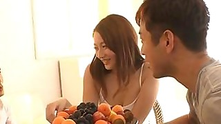 babe fuck japanese old-and-young tease teen threesome