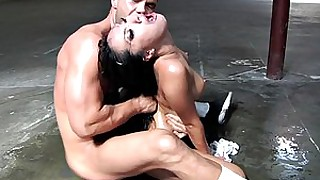 brunette cumshot fuck hardcore hot pornstar striptease tease wet