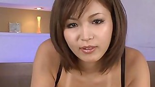 sucking little lingerie japanese handjob babe