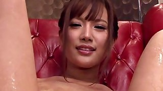anal brunette close-up hairy japanese small-tits little masturbation model