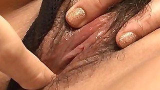 fingering japanese pussy squirting wet