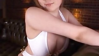 big-tits bus busty couple fuck japanese mammy milf oil