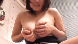 big-tits blowjob brunette bus busty couple cum fuck japanese