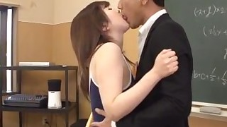 brunette classroom couple japanese licking nasty oral playing schoolgirl