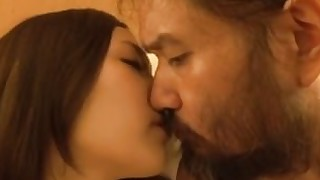 brunette couple fuck japanese kiss uncensored