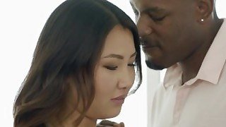 ass babe black blowjob big-cock deepthroat doggy-style huge-cock interracial