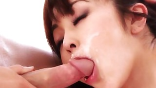 cumshot hot japanese mouthful oriental