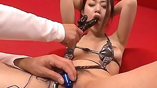 slave japanese hairy dildo beauty