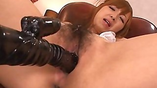 hairy japanese moan